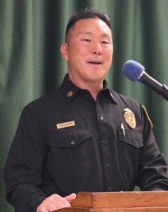 Los Angeles County Fire Department Assistant Chief Michael Takeshita