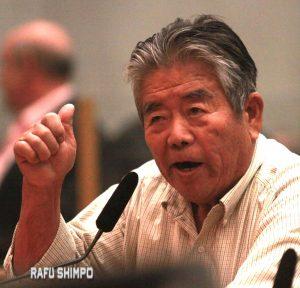 Seiji Horio of the Southern California Gardeners' Federation.