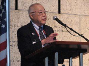 Alan Kumamoto gave opening remarks.