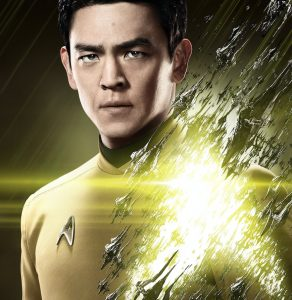 """John Cho as Sulu in a promotional poster for """"Star Trek Beyond."""""""