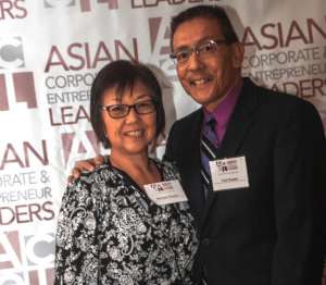 Ted and Michele Namba were active with ACEL (Asian Corporate Entrepreneur Leaders) in Phoenix.