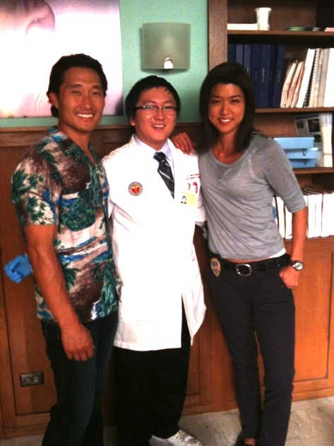 """The cast of """"Hawaii Five-0"""" included an Asian American sci-fi trifecta: Daniel Dae Kim from """"Lost,"""" Masi Oka from """"Heroes,"""" and Grace Park from """"Battlestar Galactica."""""""