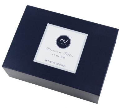 Dark Almond Toffee Gift Box - 16oz_Product Photo