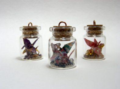 Origami Crane Bottle Charm_Product Photo1