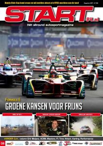 Cover van autosportmagazine Start 84 van augustus 2017 met daarin bijdragen van Ralph Stoové