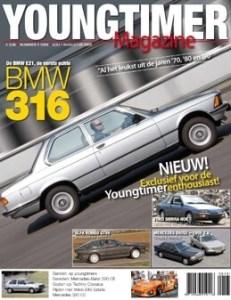 cover Youngtimer Magazine nummer 1 met het artikel van de Volkswagen Golf II CL van de familie Stoové