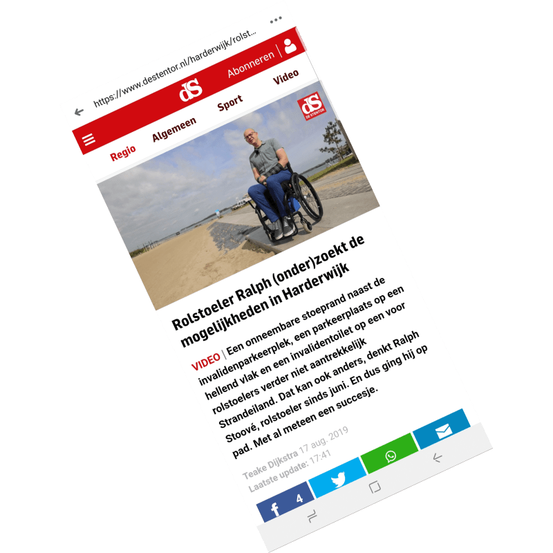 2019-08-17 Rollen met hindernissen, door Teake Dijkstra