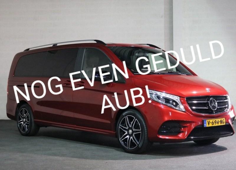 Wachten op mijn aangepaste Mercedes-Benz V-klasse Avantgarde AMG-line rolstoelbus