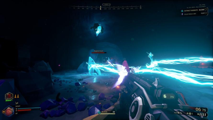 Deep Rock Galactic - Un autre type d'obstacle qui peut gêner votre exploration...