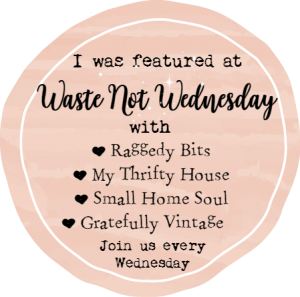 I was featured button at Waste Not Wednesday