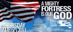 National Day of Prayer header