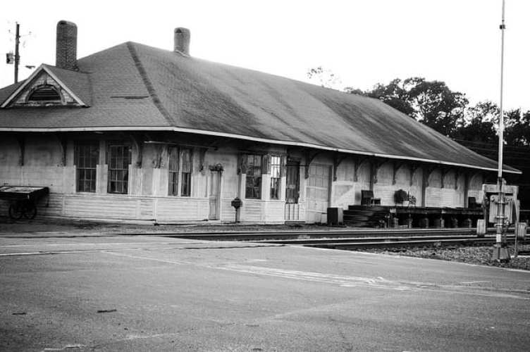 The Historic Train Depot in Eastman Georgia Copyright jOgdenC 2014 on Flickr
