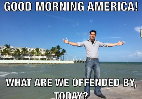 Is our society more easily offended?