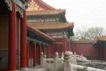 Détails de la Porte de l'Harmonie suprême