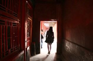 Petit couloir du palais de la Nourriture du Caractère