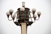 Les lampadaires de Tiananmen sont délirants