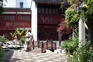 L'entrée du musée de coton
