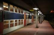 Fin de journée dans le RER