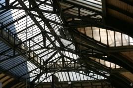 Détails de la verrière de Paris Gare de Lyon