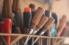 La boîte à outils section tournevis