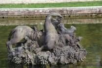 Grand Trianon, détails statue