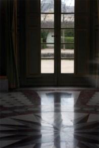 Intérieur du Pavillon français, salon central