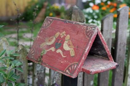 La jolie boîte aux lettres