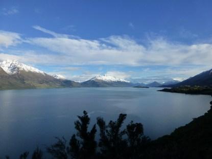 Vue sur le lac Wakatipu