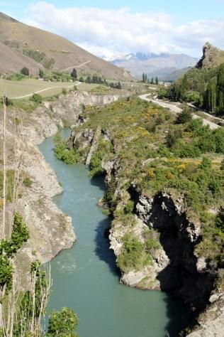 Kawarau River... ou Argonath ?