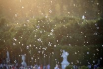 Lâchée de bulles sur la Grande Perspective
