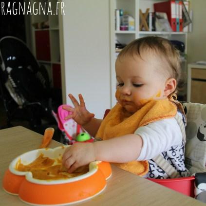 Après avoir mangé, il faut bien saucer l'assiette !