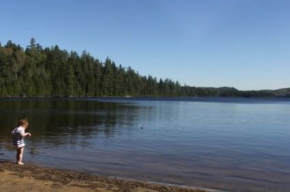 Au Lac Saint-Edouard