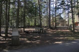 Les aires de pique-nique avec barbecue (et poubelles anti-ours)