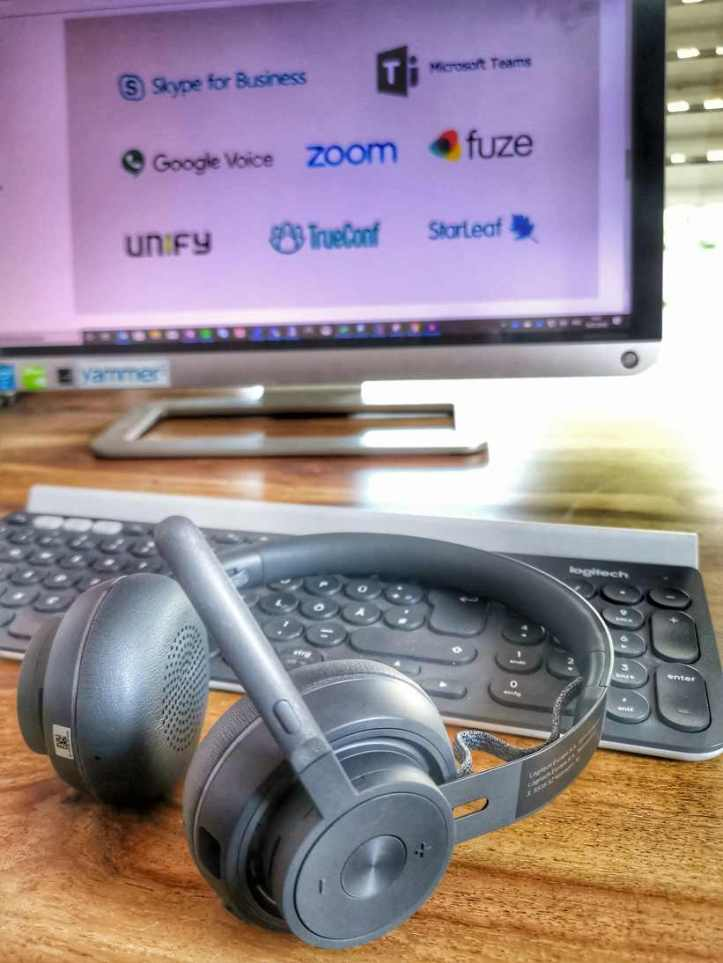 Logitech Zone Wireless Active Noise Cancellation Headset