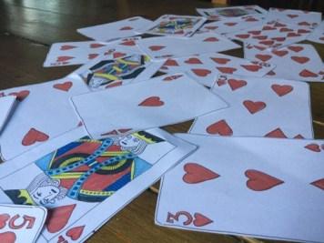 Cards runner