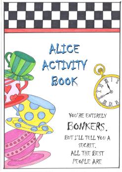Free Alice Activity Book