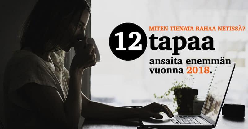 12 tapaa ansaita enemmän