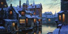 براغ في الشتاء السفر و السياحة في براغ في الشتاء فيديو
