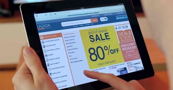 Wabak Covid-19 memberi peluang peniaga untuk menjual secara online di Lazada