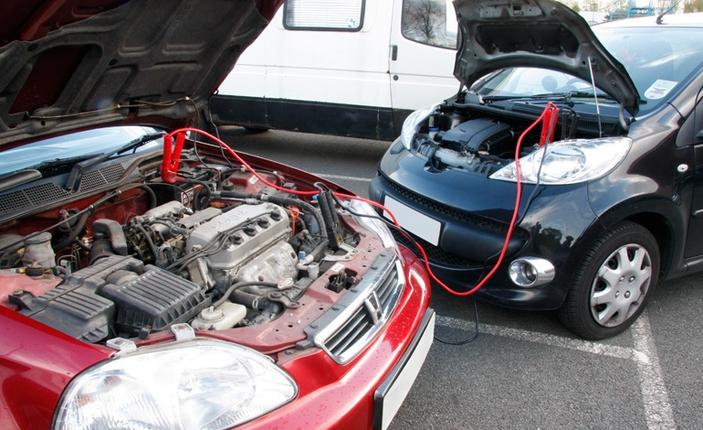 biasa guna kabel untuk start kereta kerana bateri dah habis