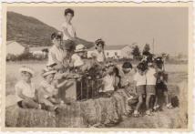 """1960 ילדי גן ניצן (ארז וחבצלת), צילם: אורי לבנוני ז""""ל"""