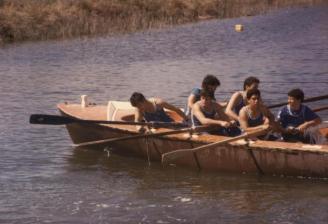 1988 תחרות חתירה במעגן מיכאל, צילם: טל הכט