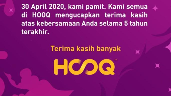 Alasan HOOQ Menutup Layanannya Mulai 30 April
