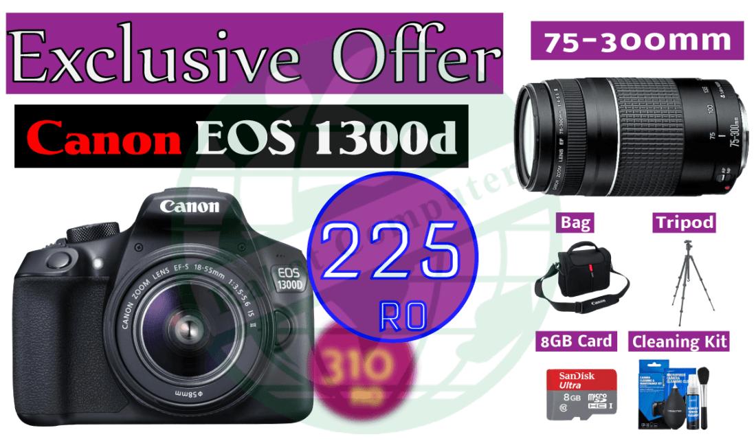 Canon-EOS1300d-DSLR Oman