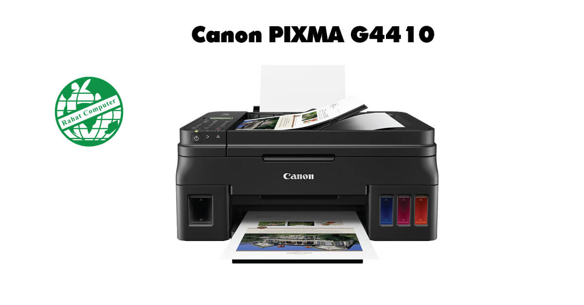 Canon Pixma G4410 Wifi 4-in-One Printer