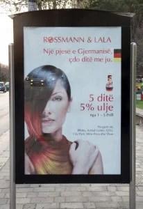 Rossmann in Albanien