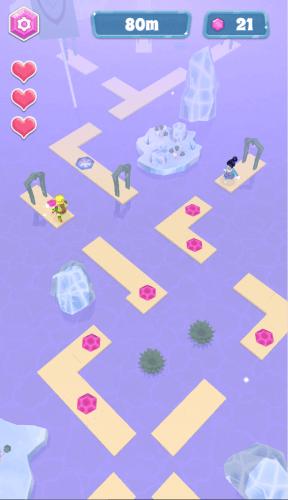 crystal run gameplay 02