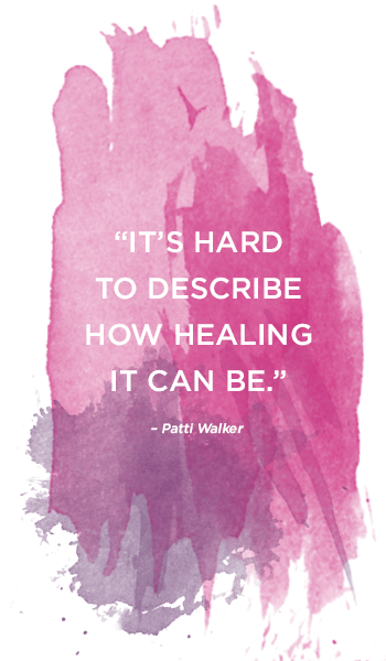 """""""It's hard to describe how healing it can be."""""""