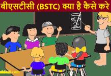 BSTC Kya hai Kaise kare