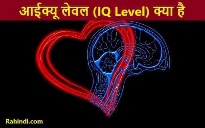IQ Level Kya Hota Hai